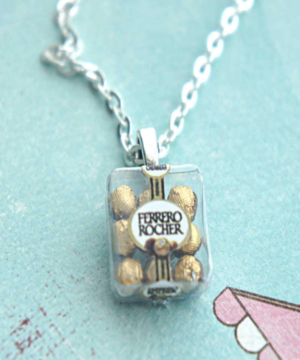 Ferrero Rocher Chocolates Necklace - Jillicious charms and accessories - 2