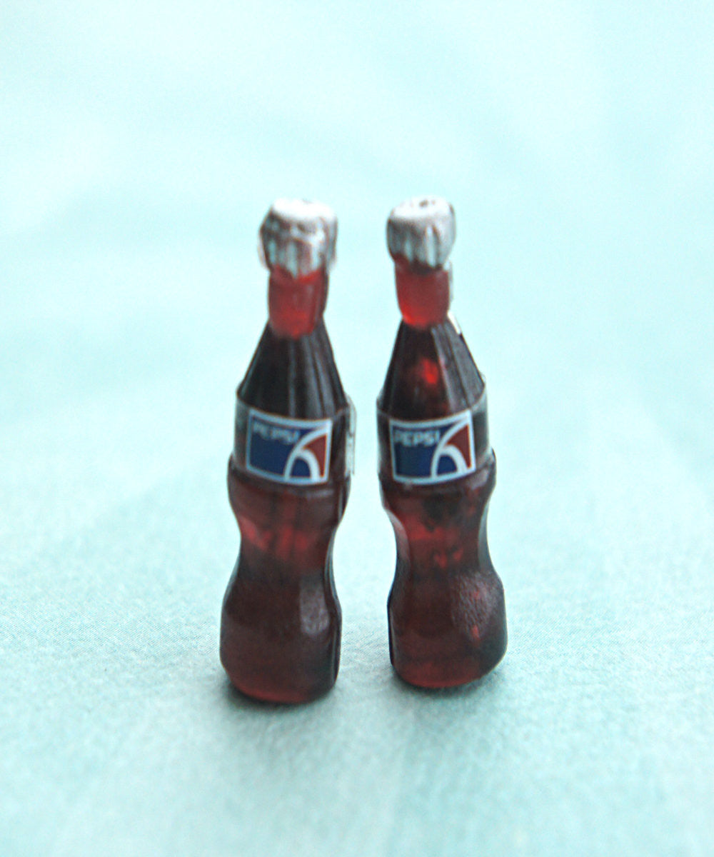 Pepsi Bottle Stud Earrings - Jillicious charms and accessories