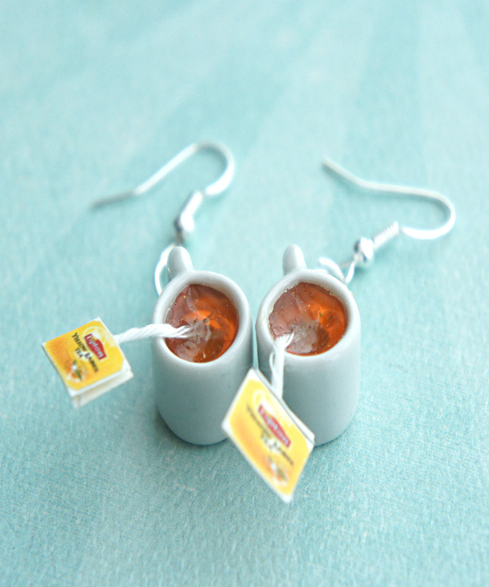 Lipton Tea Earrings - Jillicious charms and accessories - 1