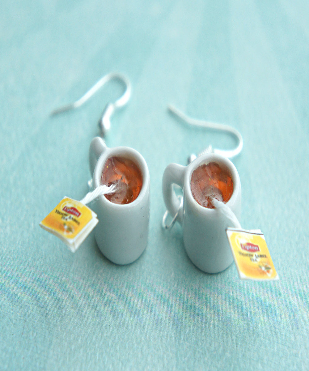 Lipton Tea Earrings - Jillicious charms and accessories - 2
