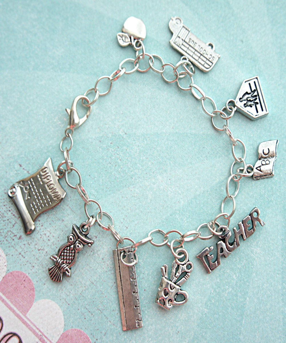 Teacher's Charm Bracelet - Jillicious charms and accessories - 3