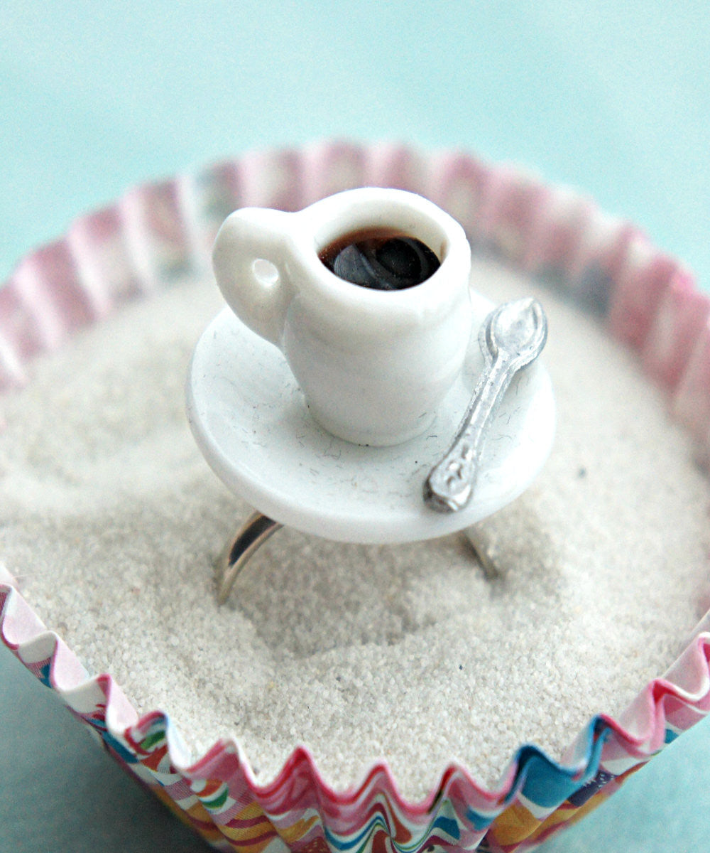 coffee cup ring - Jillicious charms and accessories - 2