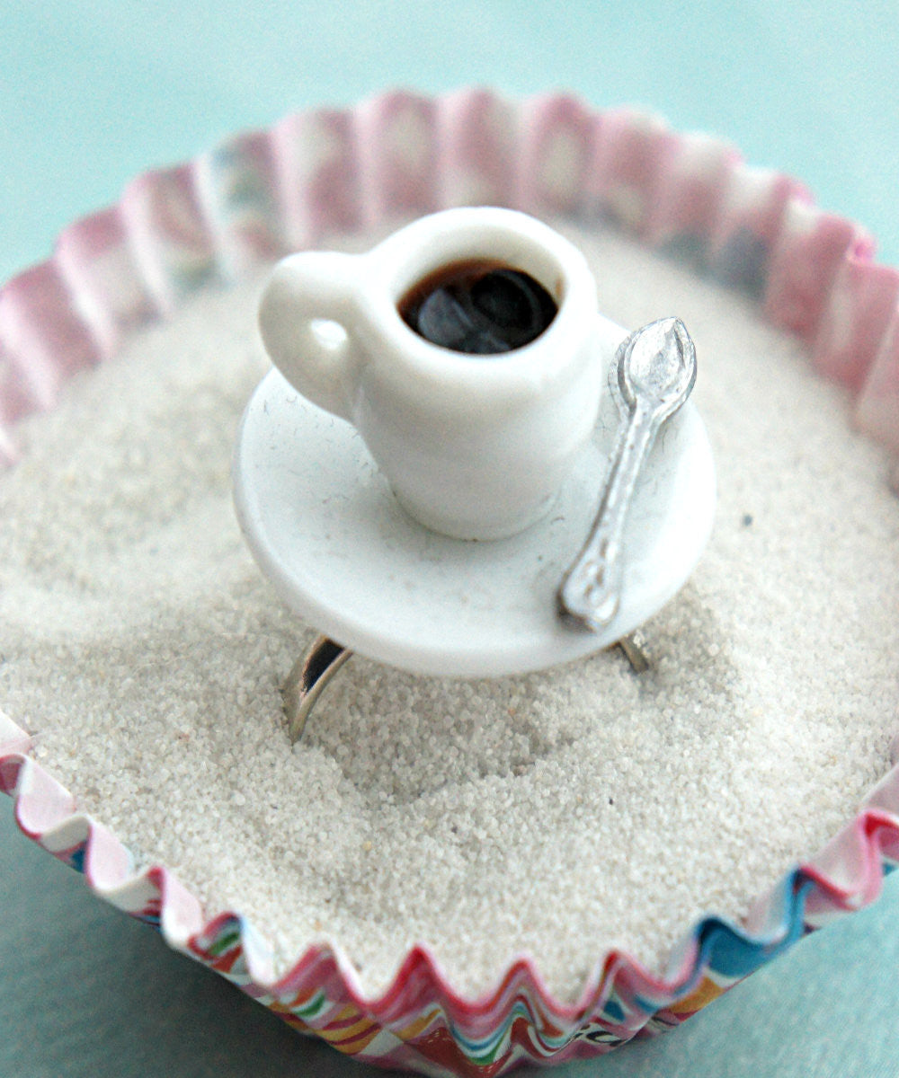 coffee cup ring - Jillicious charms and accessories