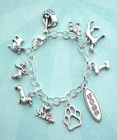dog lover charm bracelet - Jillicious charms and accessories