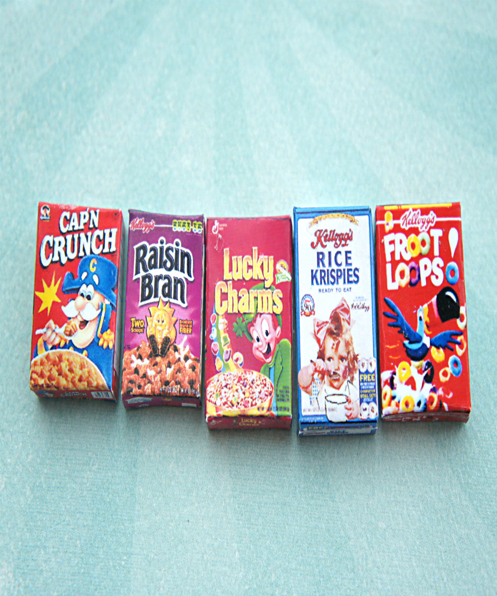 cereal box necklace - Jillicious charms and accessories