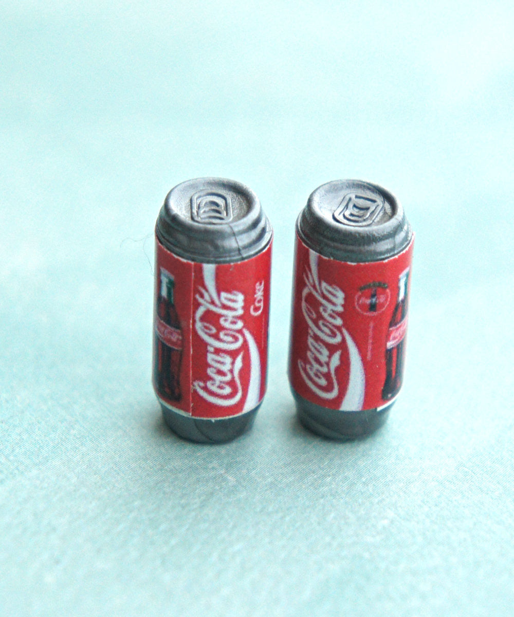 coke soda can earrings - Jillicious charms and accessories