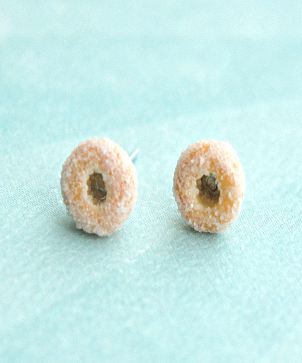 Sugar Donuts Stud Earrings - Jillicious charms and accessories - 2