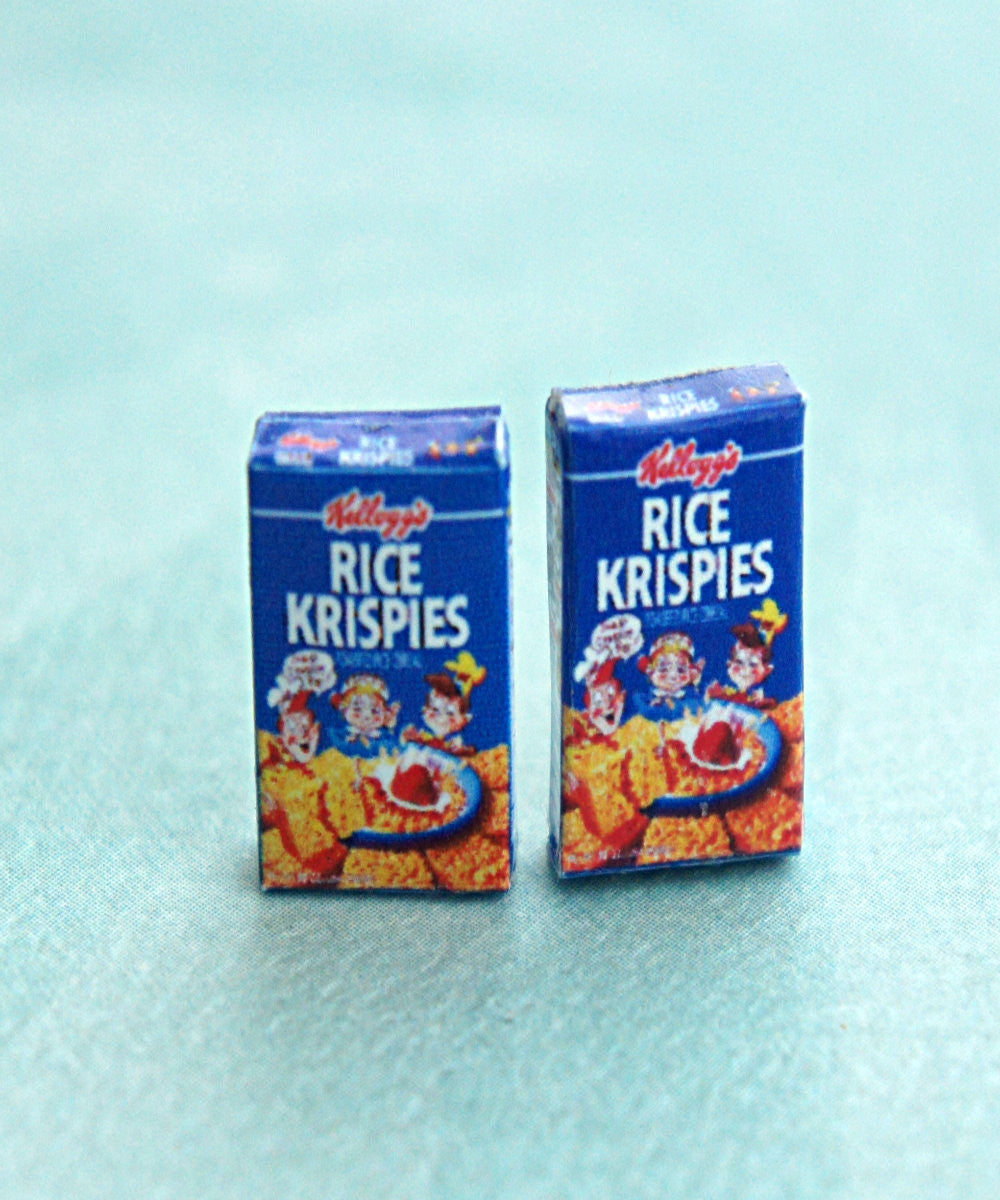Rice Krispies Cereal Box Earrings - Jillicious charms and accessories - 1
