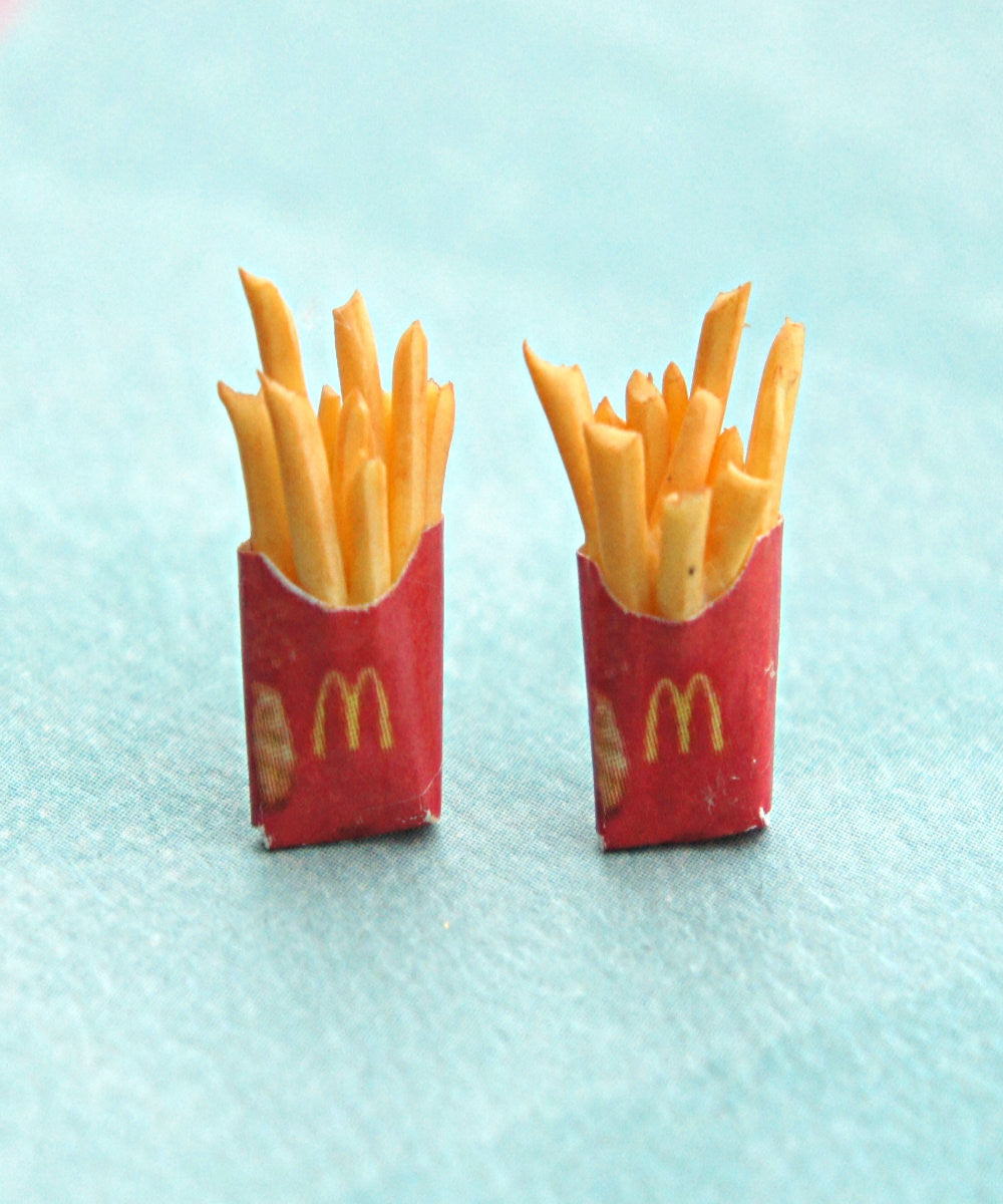french fries earrings - Jillicious charms and accessories