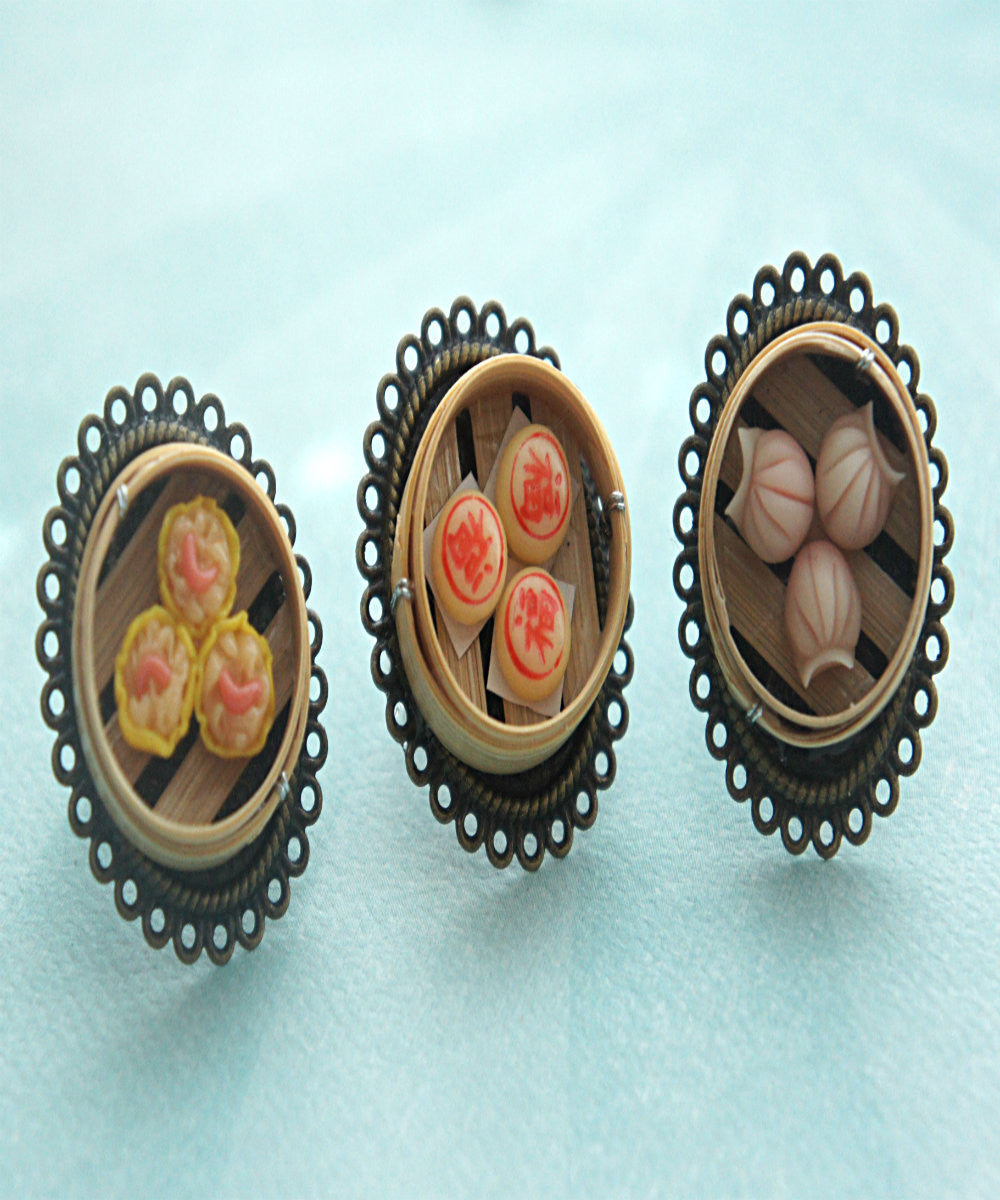 chinese dim sum ring - Jillicious charms and accessories