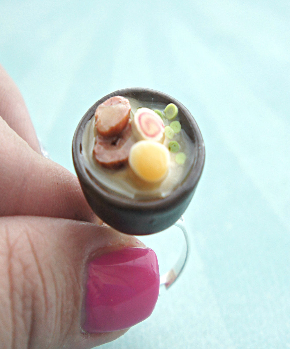 Ramen Noodles Ring - Jillicious charms and accessories - 2