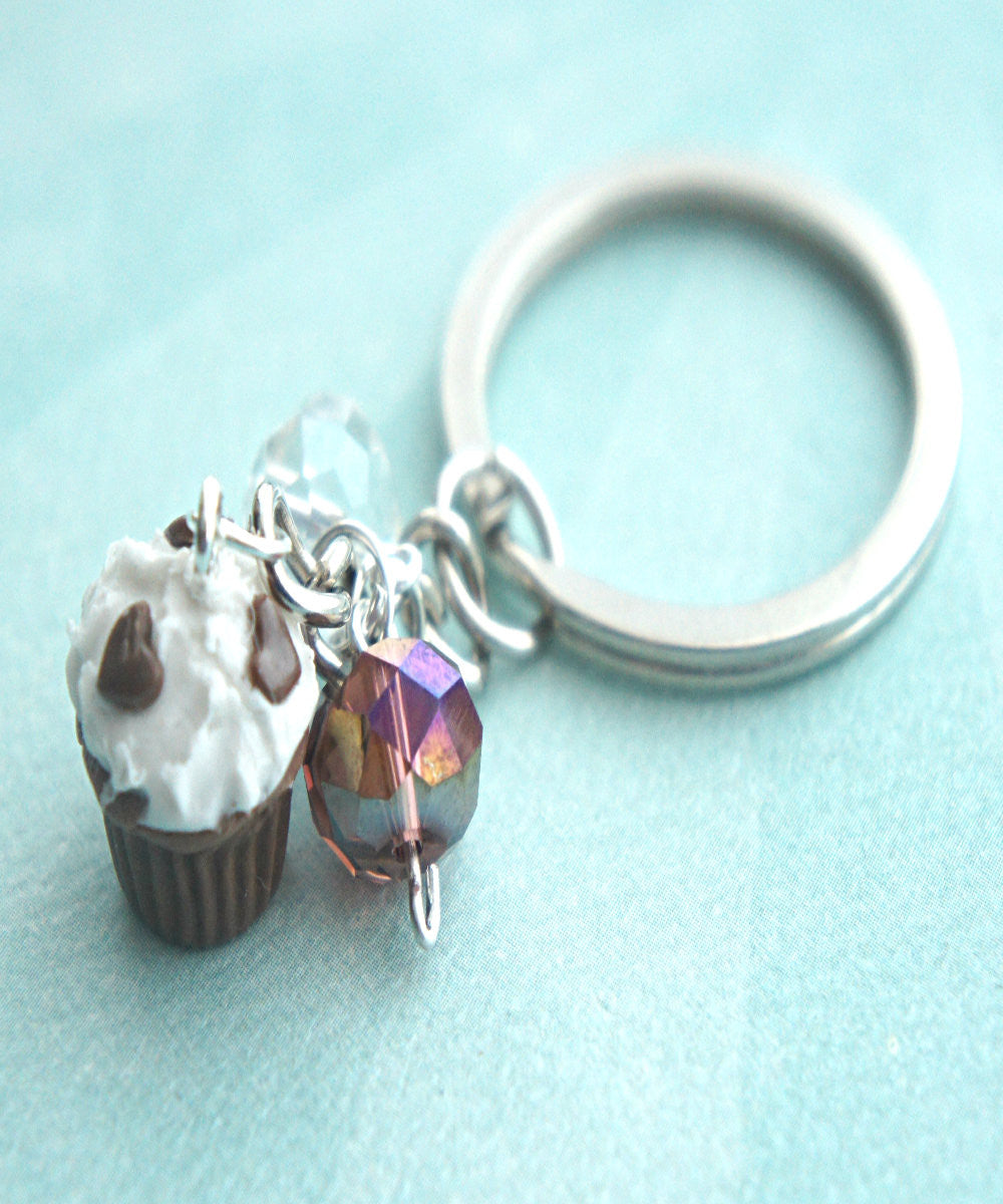 cupcake keychain - Jillicious charms and accessories
