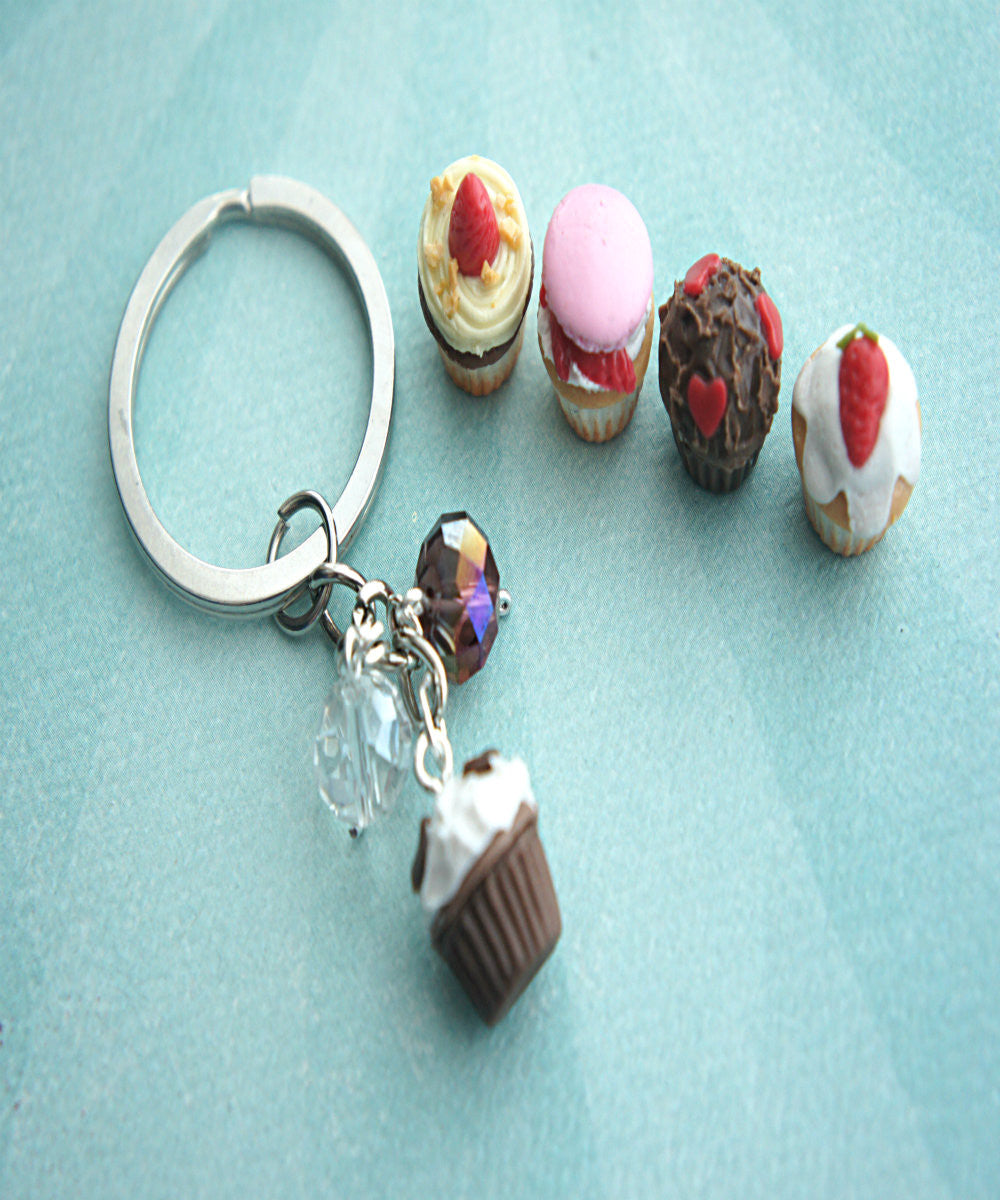 cupcake keychain - Jillicious charms and accessories - 2