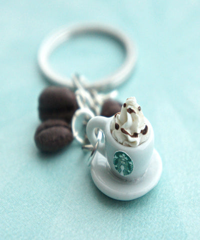 Starbucks Coffee Keychain - Jillicious charms and accessories - 1