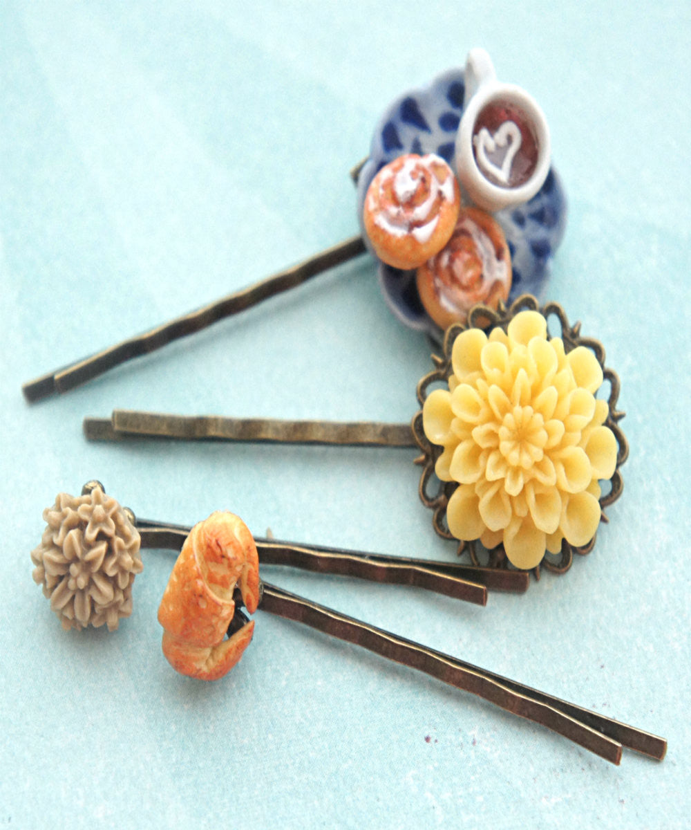 Afternoon Tea Filigree Hair Pins - Jillicious charms and accessories - 3