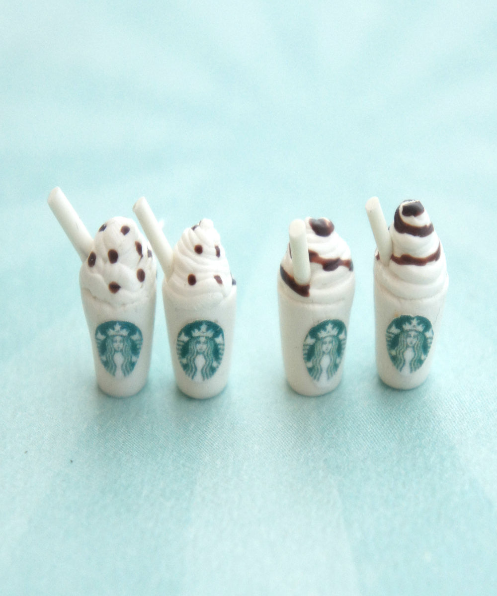 Starbucks Coffee Stud Earrings - Jillicious charms and accessories - 2