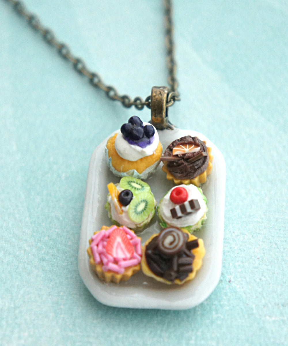 cupcake sampler necklace - Jillicious charms and accessories - 2