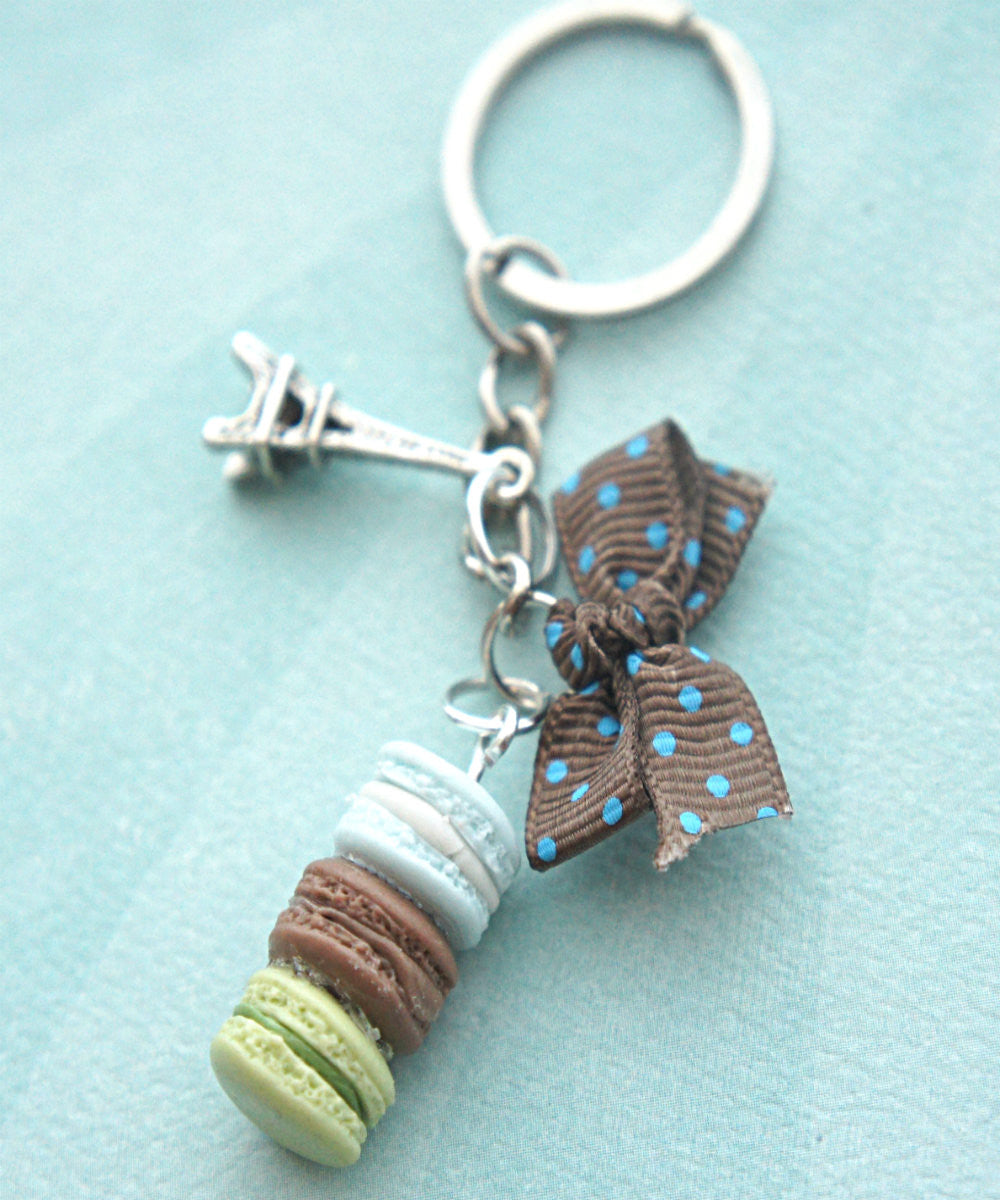 Parisian Themed Keychain - Jillicious charms and accessories - 5