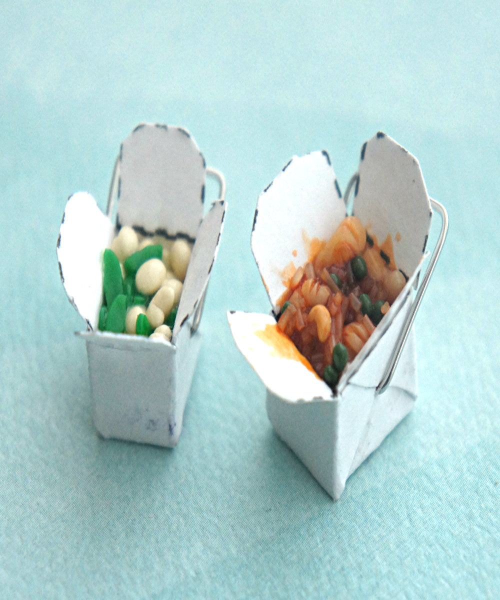 chinese food take out box necklace - Jillicious charms and accessories - 3