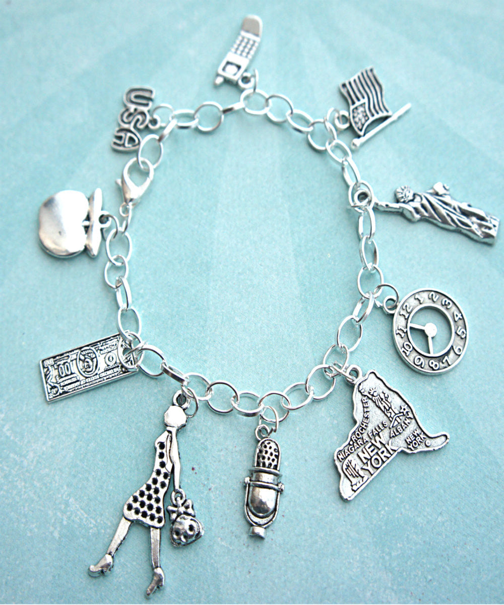 New Yorker Charm Bracelet - Jillicious charms and accessories - 1
