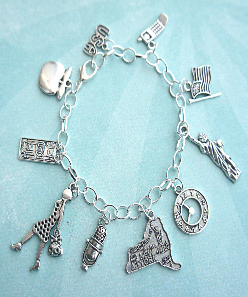 New Yorker Charm Bracelet - Jillicious charms and accessories - 2