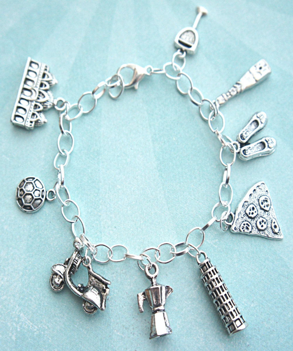 everything italian charm bracelet - Jillicious charms and accessories