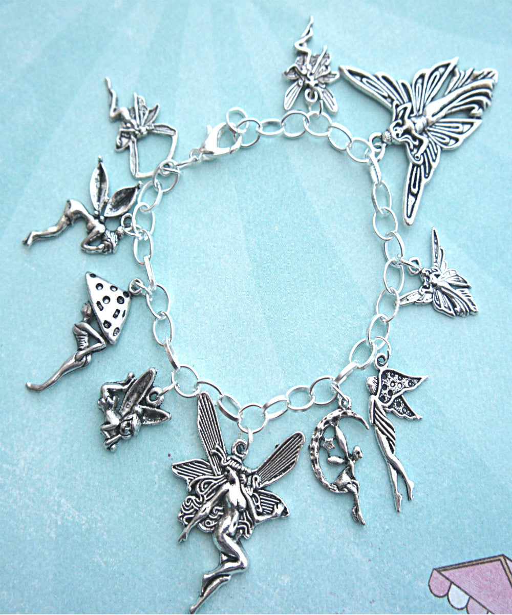 fairies charm bracelet - Jillicious charms and accessories