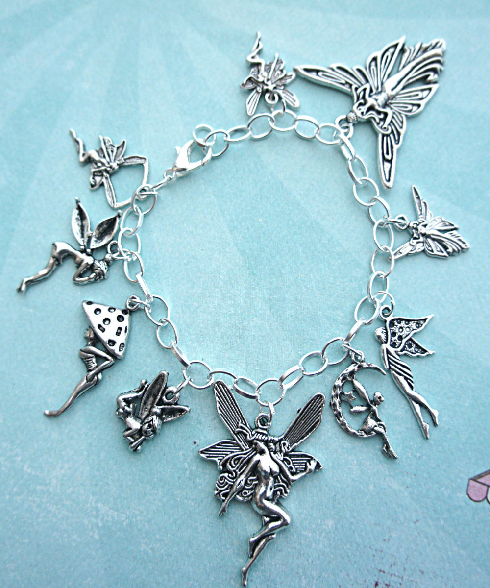 fairies charm bracelet - Jillicious charms and accessories - 2