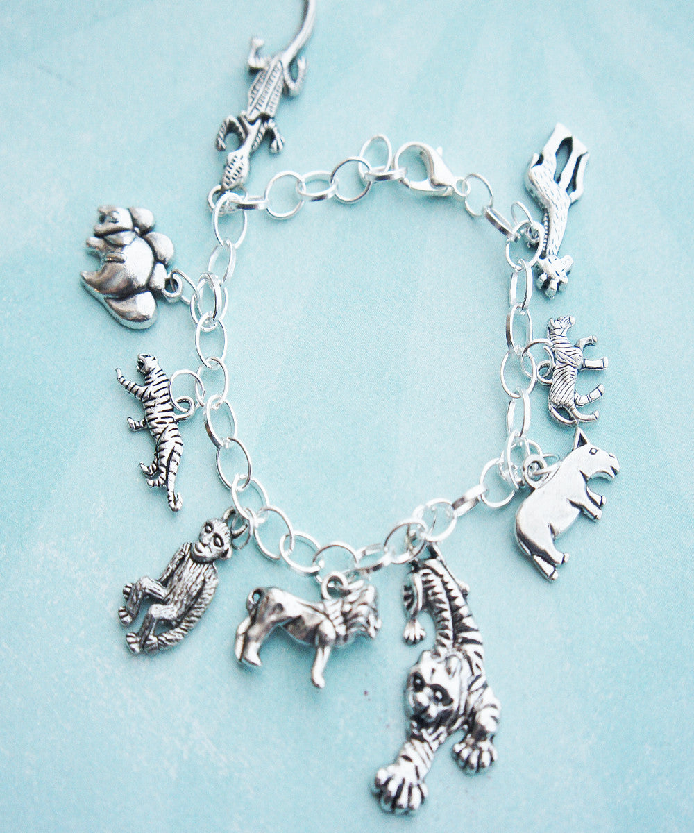 Safari Inspired Charm Bracelet - Jillicious charms and accessories - 3