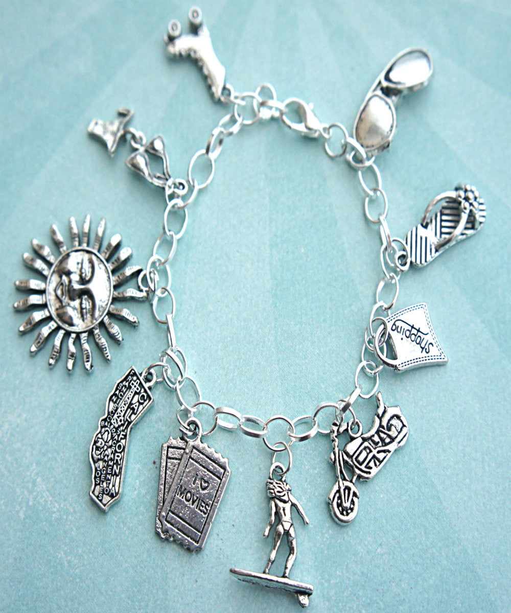 Sunny California Charm Bracelet - Jillicious charms and accessories - 1