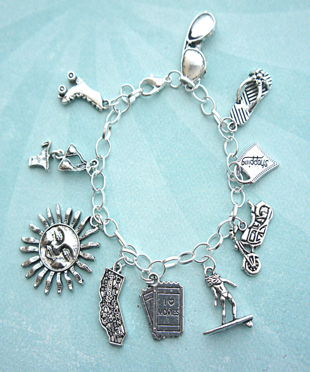 Sunny California Charm Bracelet - Jillicious charms and accessories - 3