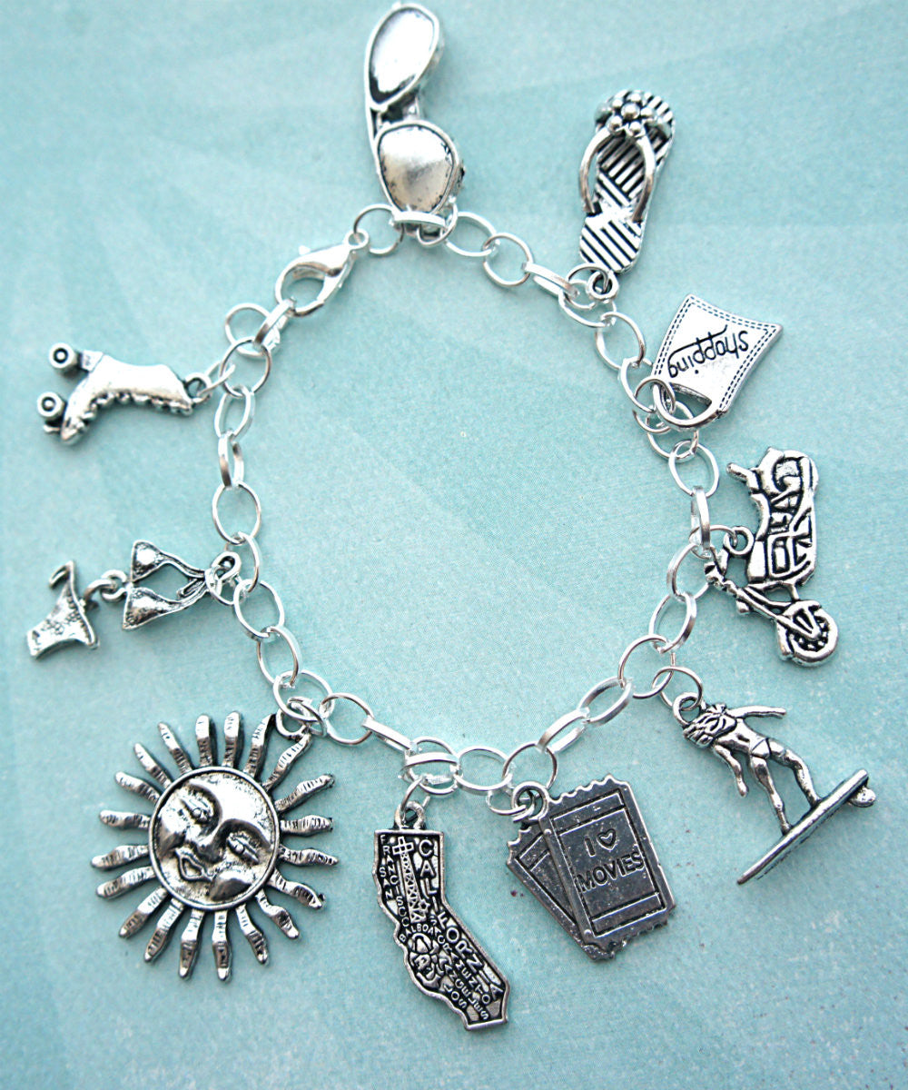 Sunny California Charm Bracelet - Jillicious charms and accessories - 2