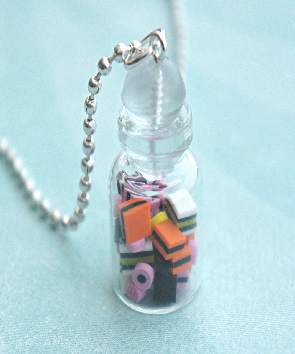 Licorice in a Jar Necklace - Jillicious charms and accessories - 1