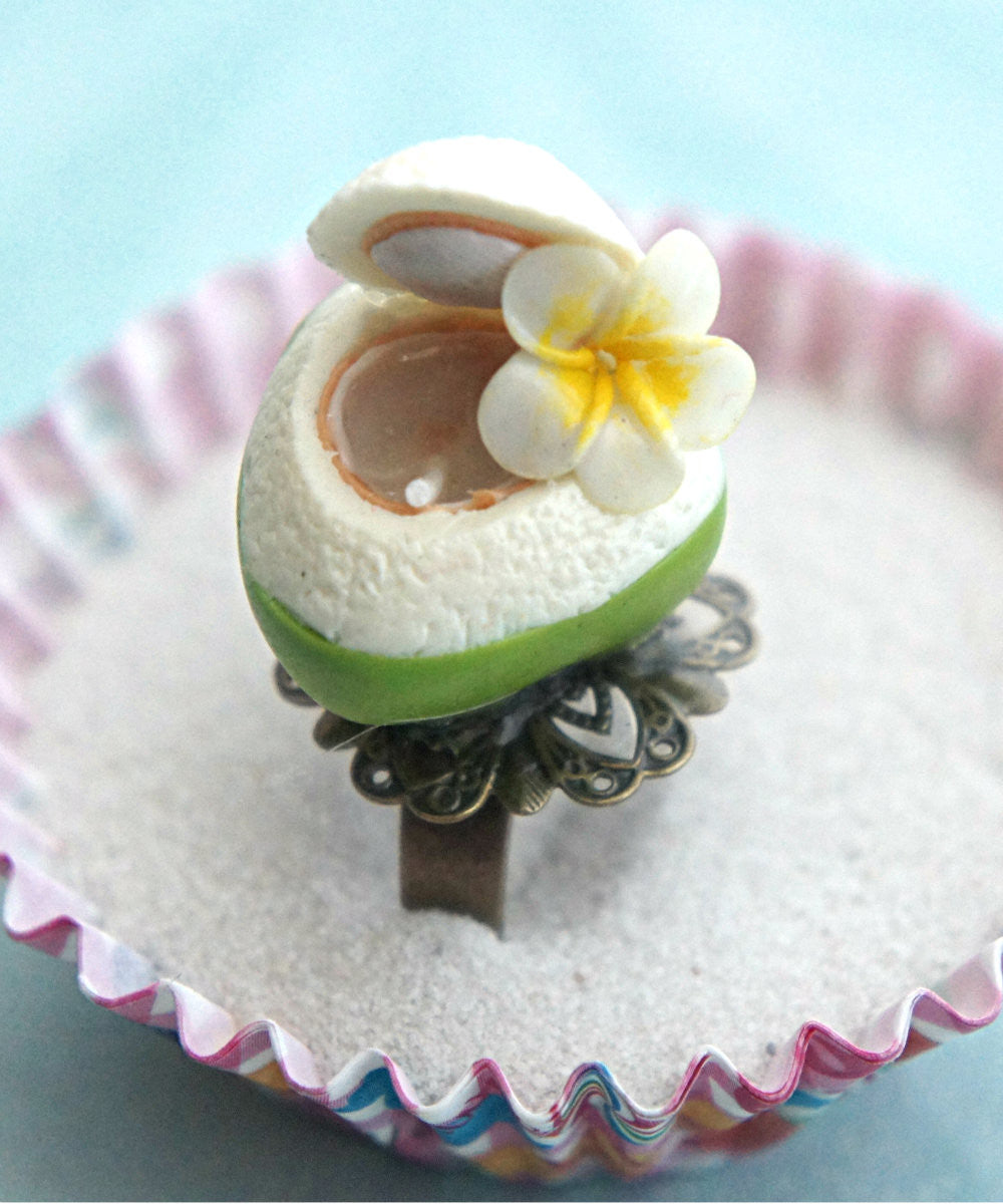 coconut juice ring - Jillicious charms and accessories