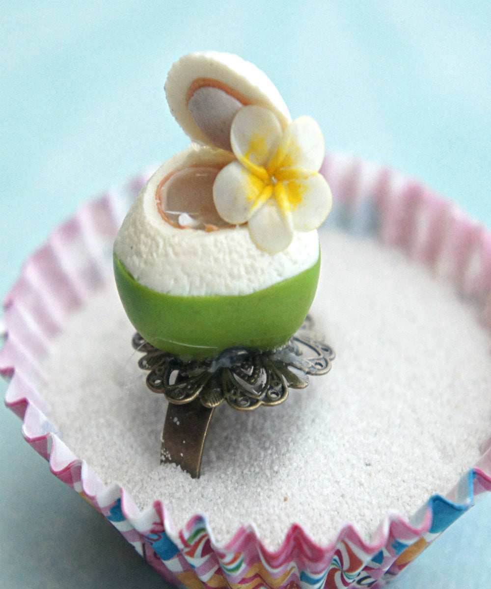 coconut juice ring - Jillicious charms and accessories - 2