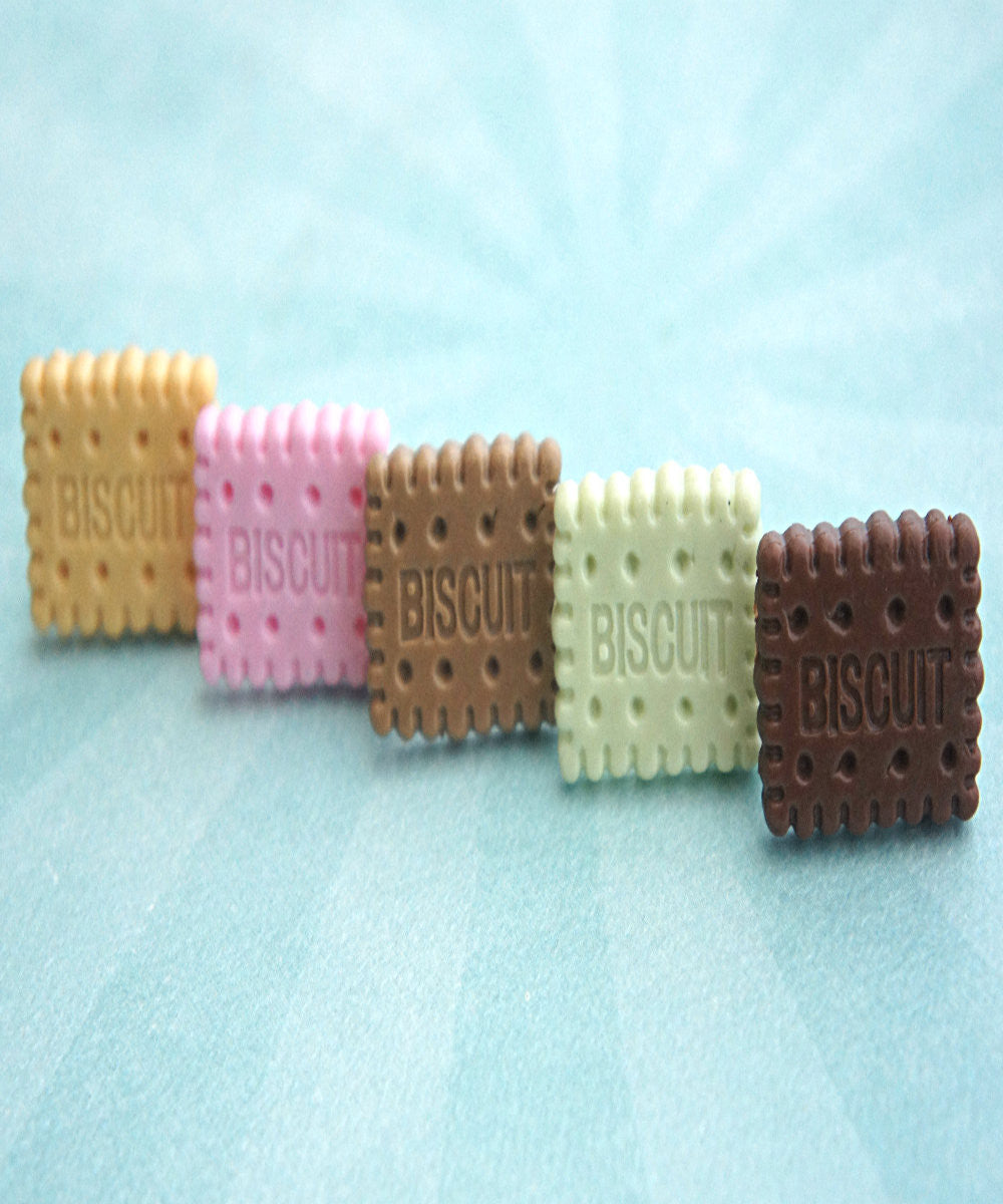 Biscuit Cookie Ring - Jillicious charms and accessories - 2