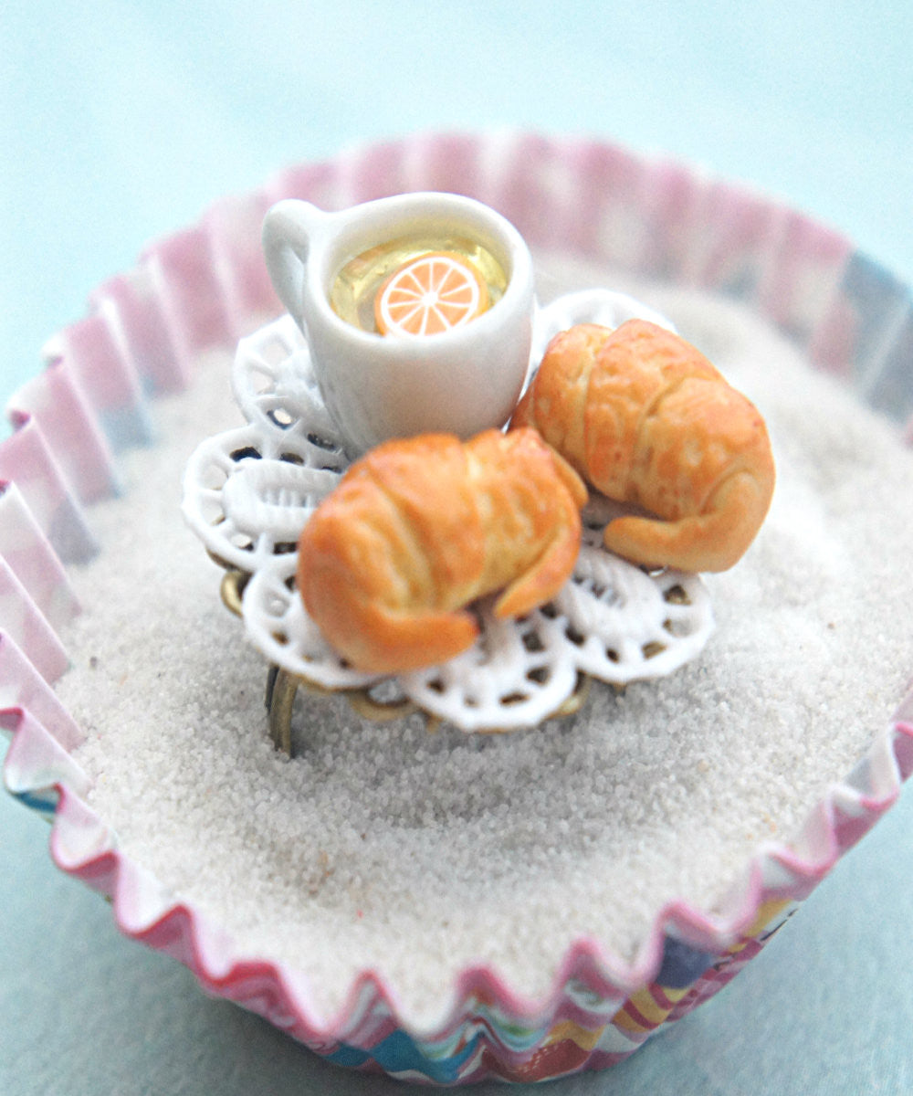 croissants and tea ring - Jillicious charms and accessories