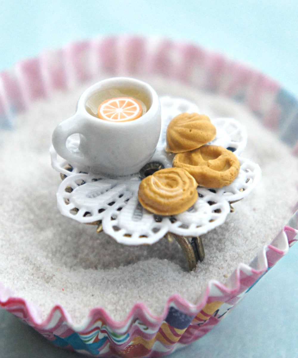 Shortbread Cookies and Tea Ring - Jillicious charms and accessories - 1