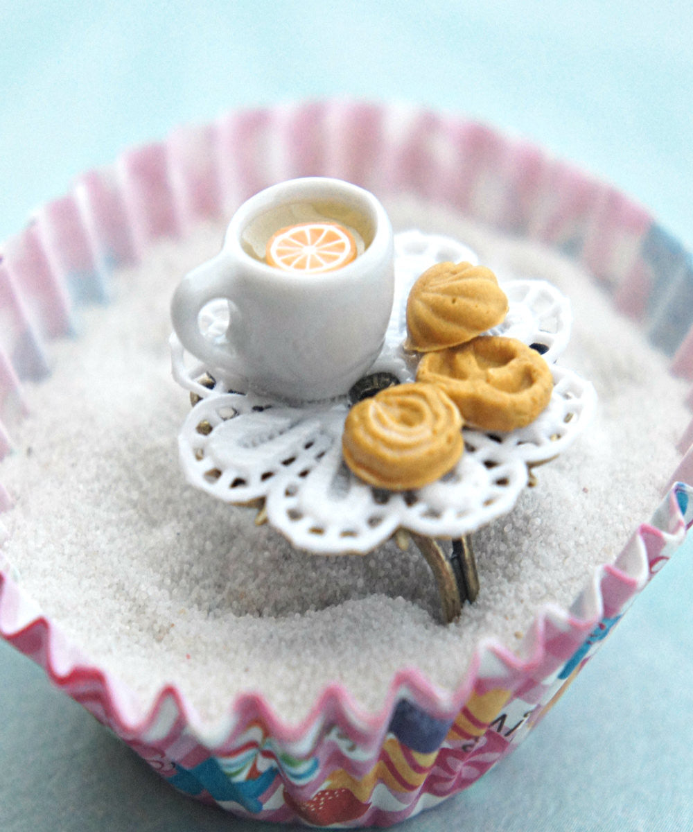 Shortbread Cookies and Tea Ring - Jillicious charms and accessories - 3