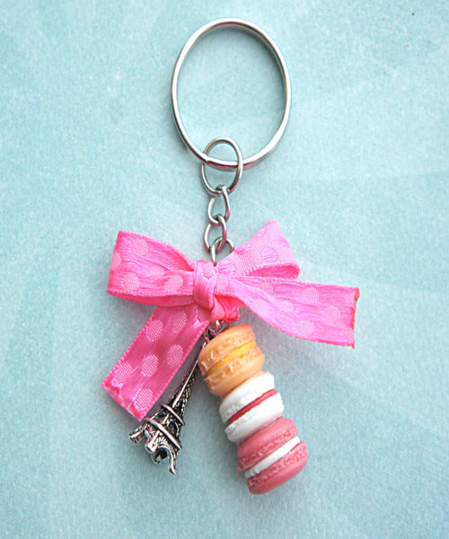 Parisian Themed Keychain - Jillicious charms and accessories