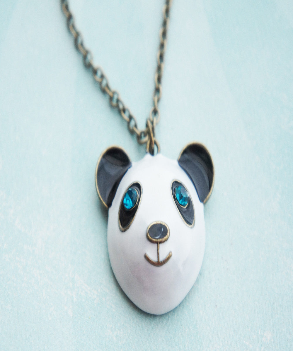 Panda Necklace - Jillicious charms and accessories
