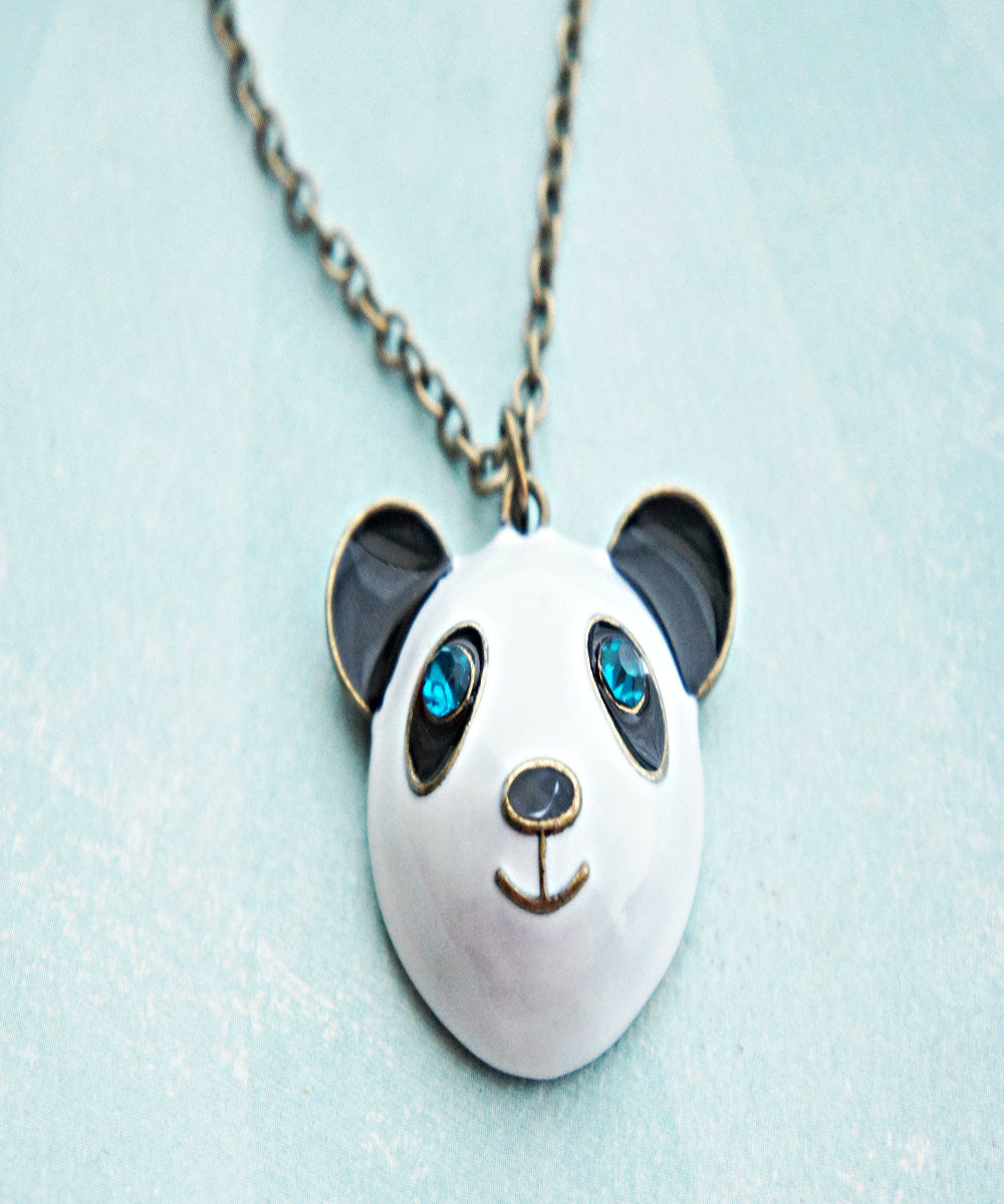 Panda Necklace - Jillicious charms and accessories - 1