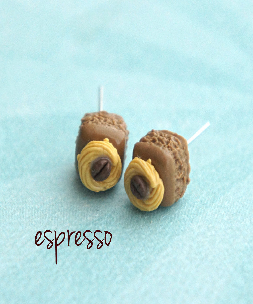 Brownie Bites Stud Earrings - Jillicious charms and accessories - 1