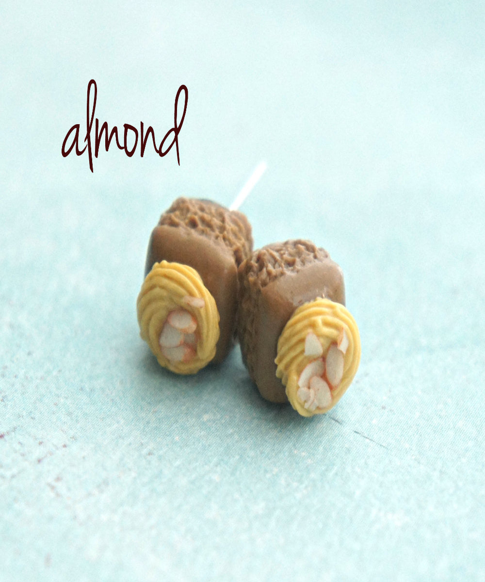 Brownie Bites Stud Earrings - Jillicious charms and accessories - 2