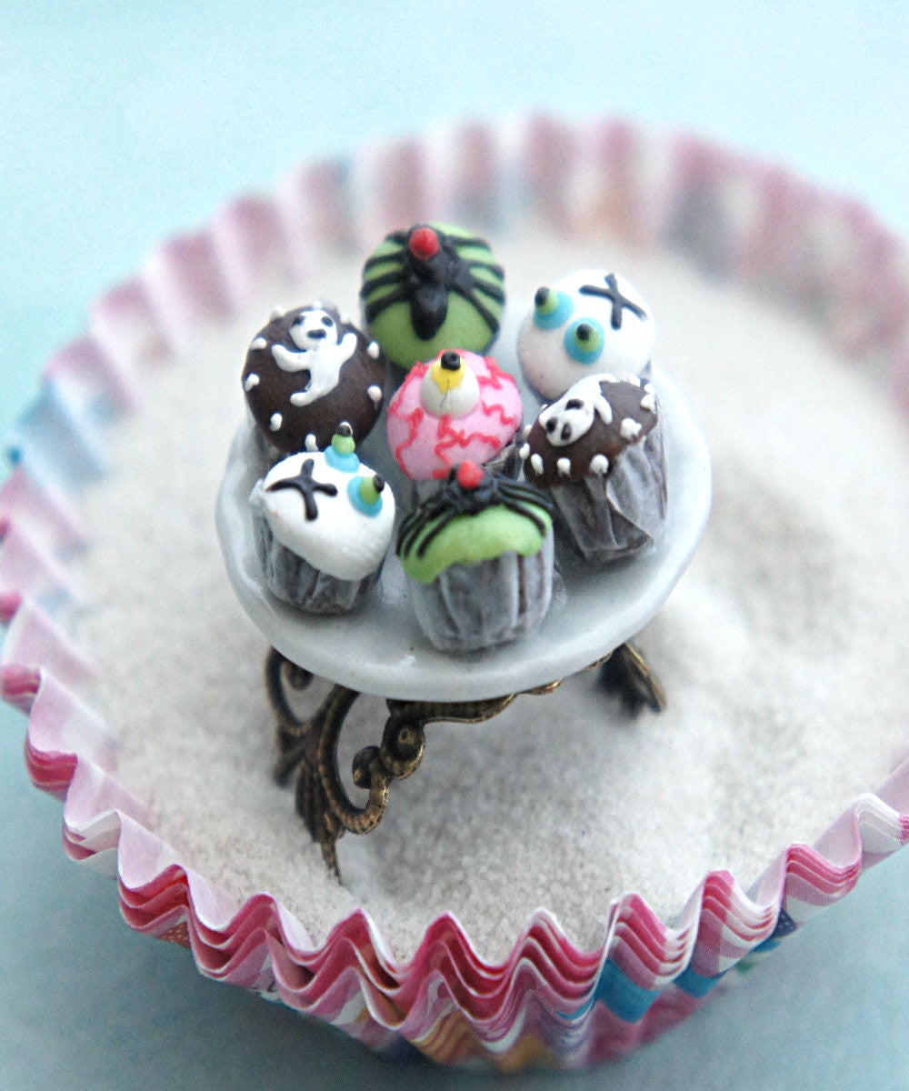 halloween cupcake plate ring - Jillicious charms and accessories - 2