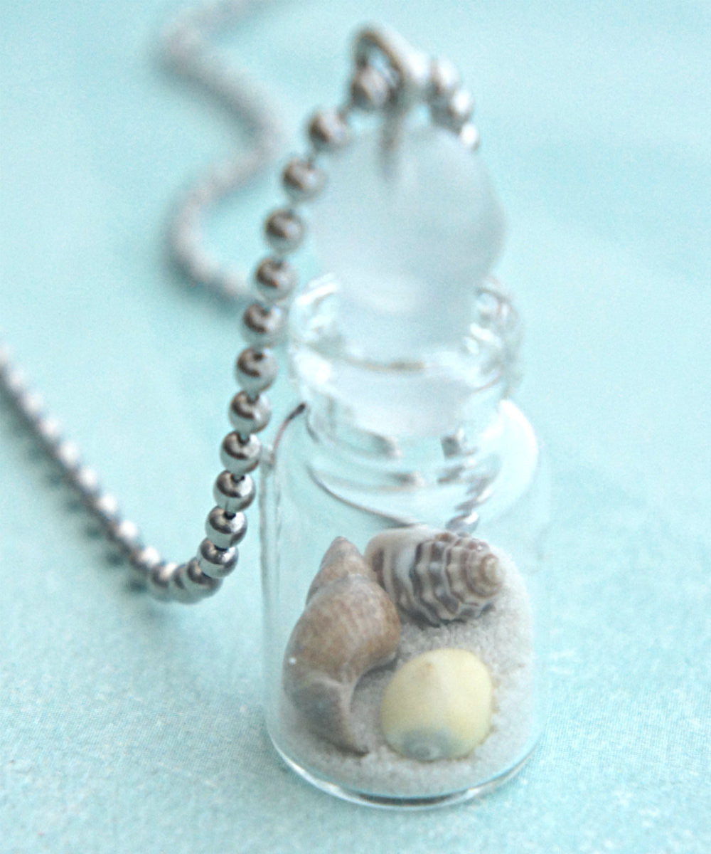 Beach in a Bottle Necklace - Jillicious charms and accessories