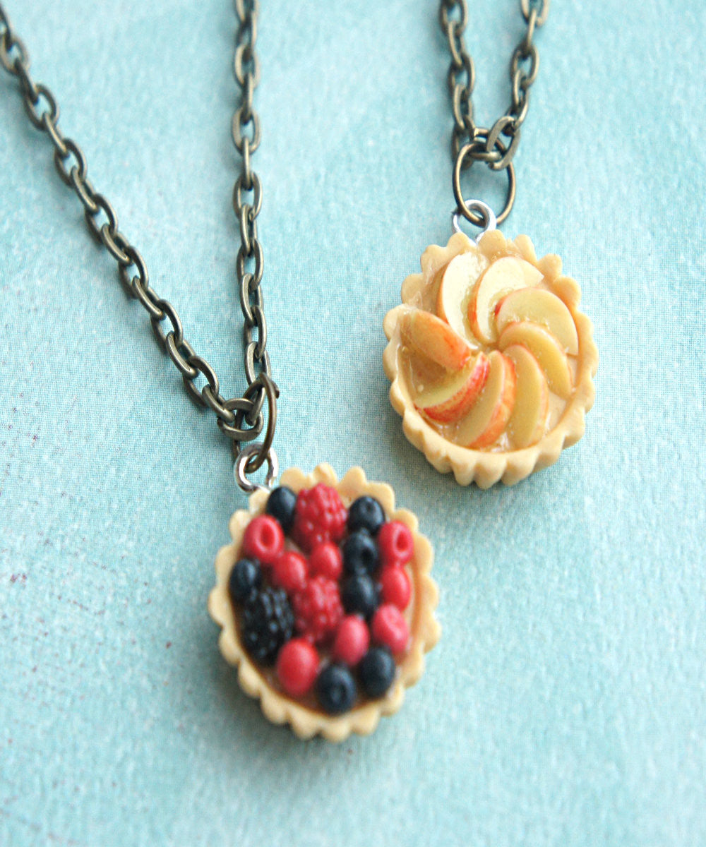 fruit tart necklace - Jillicious charms and accessories - 2