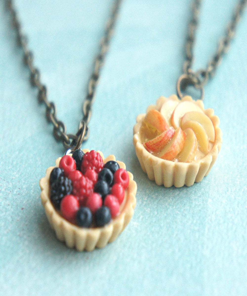 fruit tart necklace - Jillicious charms and accessories - 1