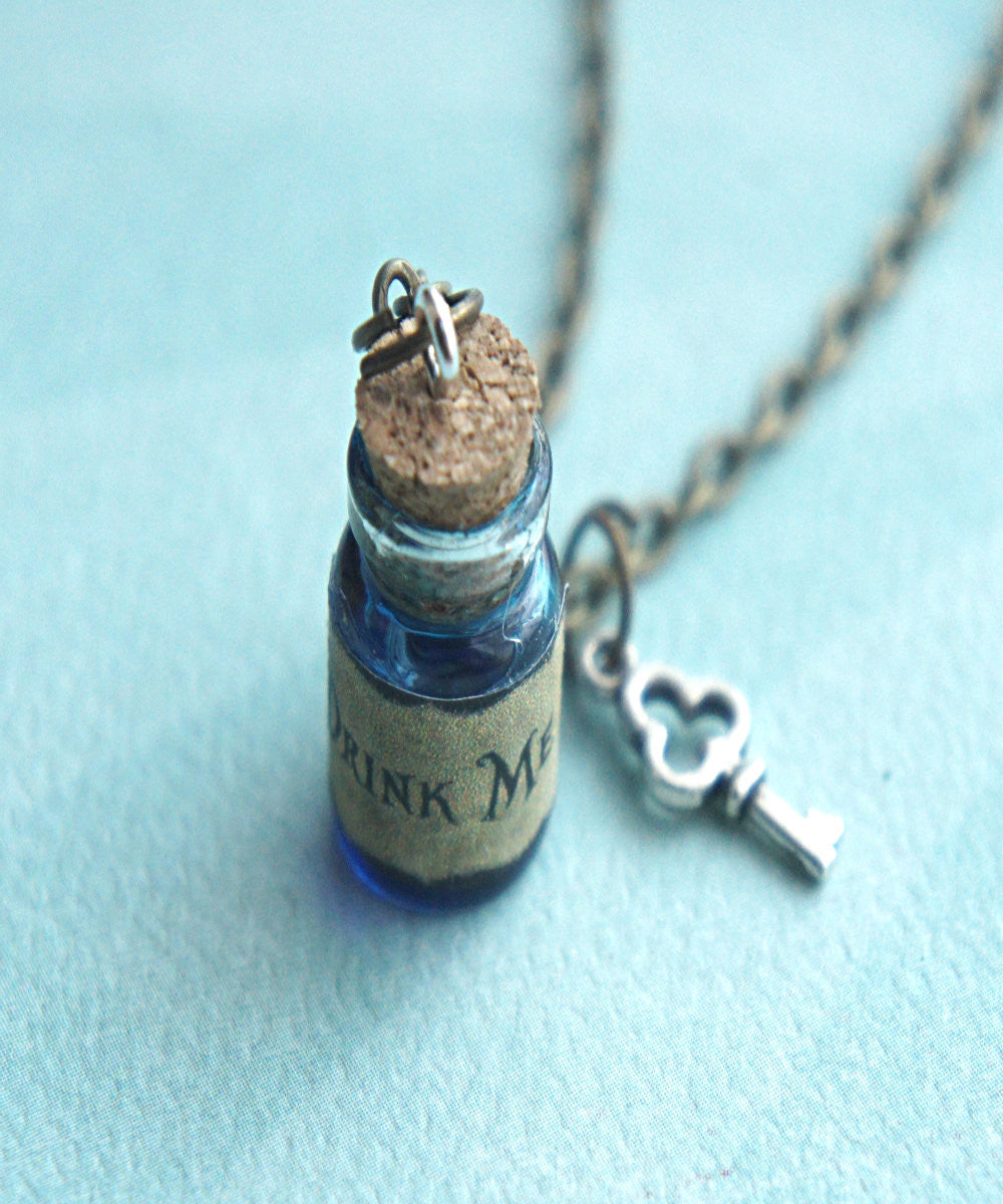 """Drink Me"" Potion Necklace - Jillicious charms and accessories"