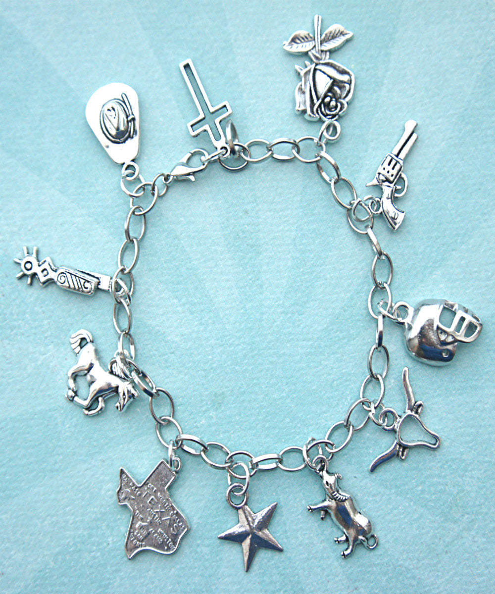 Texas Charm Bracelet - Jillicious charms and accessories - 2